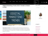 Digital Marketing Trends 2021 | Trends to Watch in 2021
