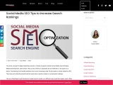 Social Media SEO Tips to Increase Search Rankings