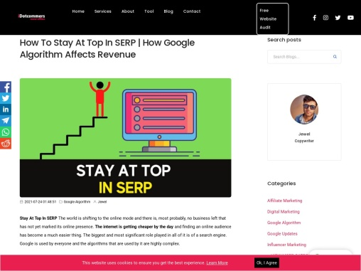 How To Stay At Top In SERP | How Google Algorithm Affects Revenue