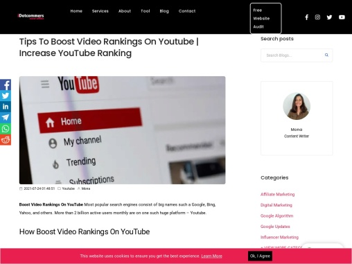 Tips to Boost Video Rankings on Youtube