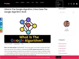 What Is The Google Algorithm | How Does The Google Algorithm Work