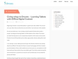 Learning Tablets with Offline Digital Content