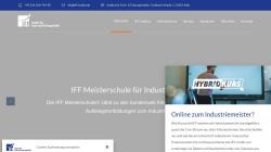 www.iff-meisterschule.de Vorschau, IFF Meisterschule für Industriemeister