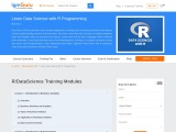 Data science with r course
