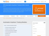 RPA Automation Anywhere Training Online Course