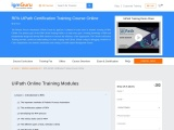 RPA UiPath Certification Training Course Online