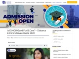 Is IGNOU Good For B.Com? – Distance B.Com Ultimate Guide 2021