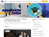 Is IGNOU Good For B.Sc? – Distance B.Sc Ultimate Guide 2021