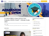 Is Online MBA In Data Science And Analytics IGNOU Good? – Ultimate Guide 2021