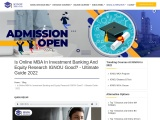 Is Online MBA In Investment Banking And Equity Research IGNOU Good? – Ultimate Guide 2021