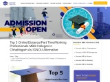 Top 5 Online/Distance/Part Time/Working Professionals MBA Colleges In Chhattisgarh As IGNOU Alternat
