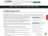 One of the top MBA college in Bangalore