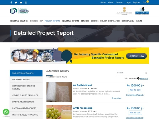 Prototype Project Report of Automobile Industry   IID