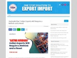 'AatmaNirbhar' Indian Exports Will Require a Rethink and a Reset