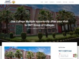 One College Multiple opportunity : Plan your Visit to IIMT Group of Colleges