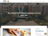 Why Choose Civil Engineering Diploma Course after 10th