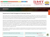 Top University for Hotel Management in UP, Delhi NCR