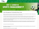 Sports Management: The Next Big Thing in India