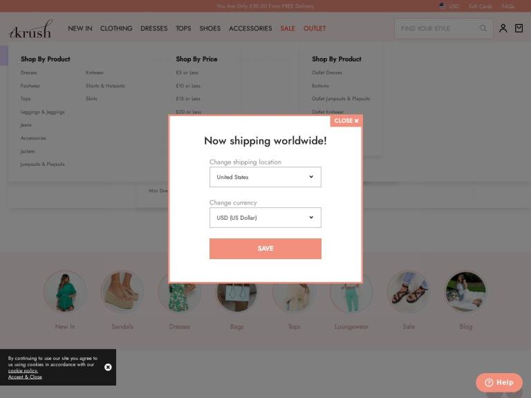 ikrush Discount Codes screenshot