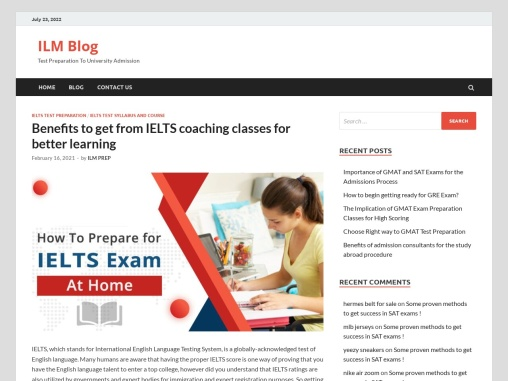 Benefits to get from IELTS coaching classes for better learning
