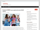 Purpose of GMAT exam explained by best GMAT classes