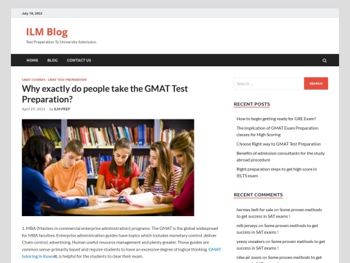 Why exactly do people take the GMAT Test Preparation