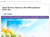 Styles Of Men's Underwear That Will Compliment Easter Day