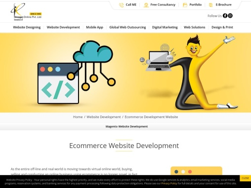 Ecommerce Website Design Development Company in Mumbai, India