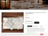 Block Printed Cotton Duvet Cover with Ethnic Butta Motifs