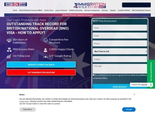 British National Overseas Visa for Family members