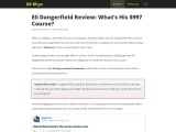 Eli Dangerfield Review: What's His $997 Course?