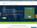 Get 100% Verified D Level Executives Email List | Company Directors Email Addresses