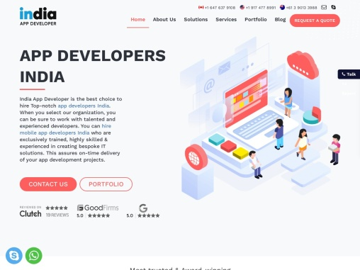 India App Developer – Top Mobile App Developers India