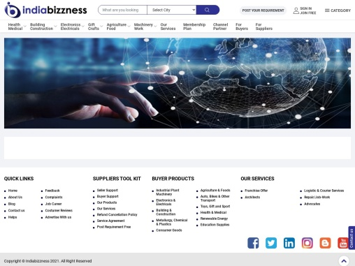 B2B List of Industrial Plant & Machinery Manufacturers – IndiaBizzness