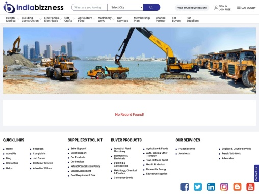 Energy and Mineral Machinery Manufacturers Suppliers – Buy Mineral Equipment Machinery in India