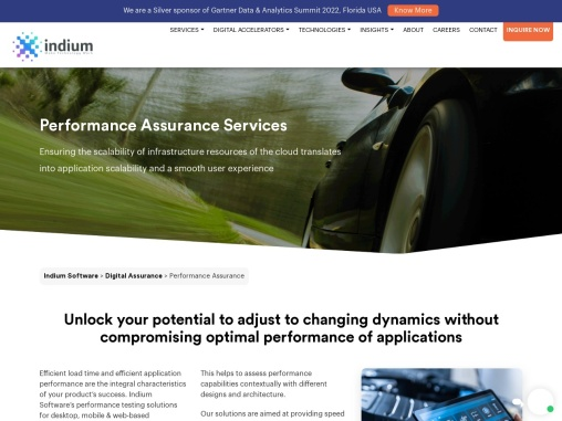 Performance Testing Services in UK
