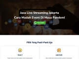 Jasa Live Streaming Jakarta, 0812-9615-1115