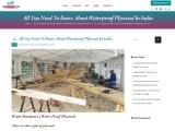 Waterproof marine plywood – Indowud NFC
