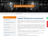 Supplier Qualification & Assessment   Industry Experts
