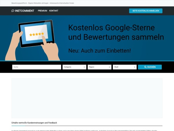 inetcomment.de - Webkatalog
