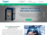 Plastic welding machine | Infinity Automation Systems Private Limited