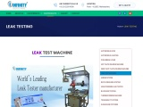 Air Leak Tester   Pressure Decay Test – Infinity Automation