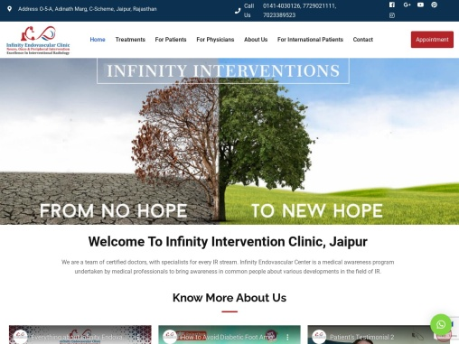 Infinity Endovascular Interventions Clinic Jaipur