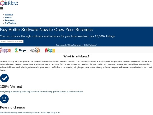 Find best software and service providers
