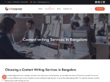 Content Writing Services in Bangalore