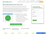 Microsoft Dynamics AX Users List  Mailing database of Companies Using Microsoft Dynamics AX