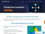 Infometry Google Connectors enable native integration of Google Applications with Informatica Cloud