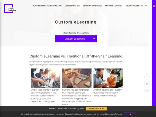 How to Utilize  Custom eLearning for Your Business