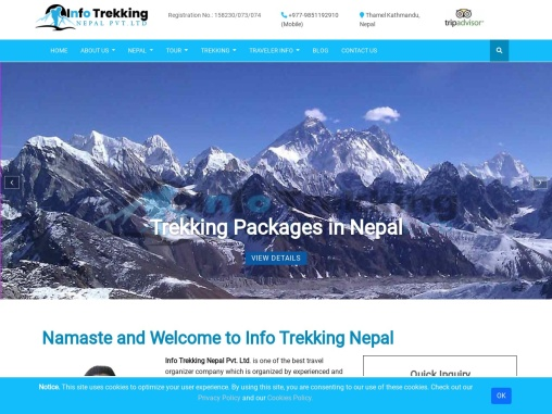 Trekking Package in Nepal | Travel Agency in Nepal