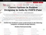 INIFD Pune Kothrud Career Options in Fashion Designing, Best Institutes Pune